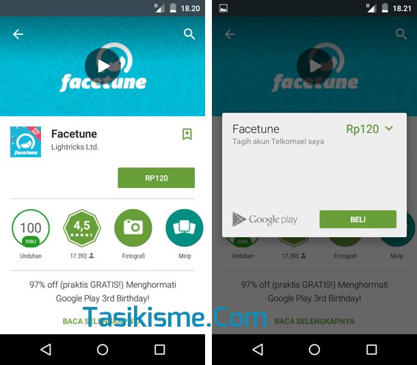 beli game berbayar Android pake pulsa