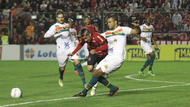 Em jogo de poucas oportunidades, Sampaio empata com Brasil-RS, em Pelotas