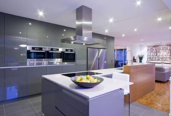 Dapur minimalis lega