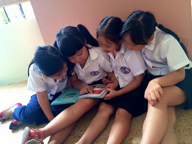Khuyến khích trẻ em tự đọc sách