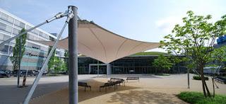 tenda membrane depok untuk taman