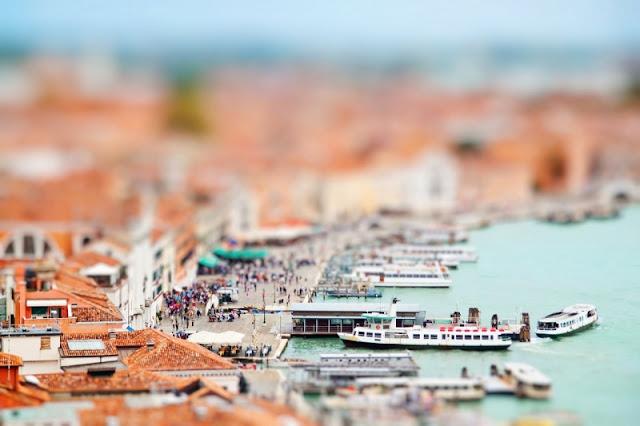 Venice, Italia chuẩn xác từ cảnh vật đến màu sắc