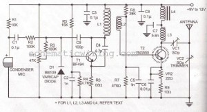 LONG RANGE FM TRANSMITTER ELECTRONIC DIAGRAM ~ why how diagram