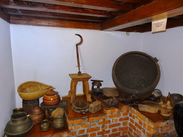 Dakshinachitra -Household articles in traditional Hindu house from Kerala