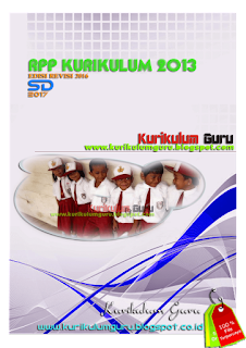 Kurikulum Guru - Download Contoh RPP Kurikulum 2013 Revisi 2016 SD