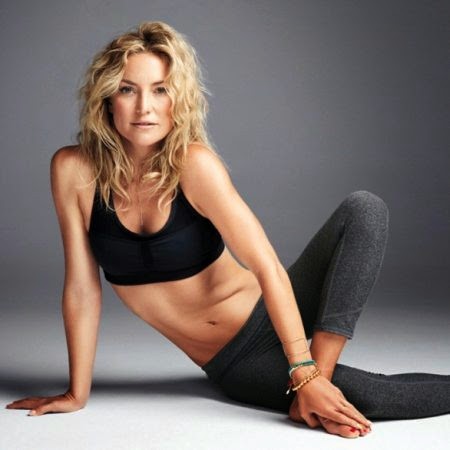 Kate Hudson shed 70 pounds by loving her body, and dancing salsa....