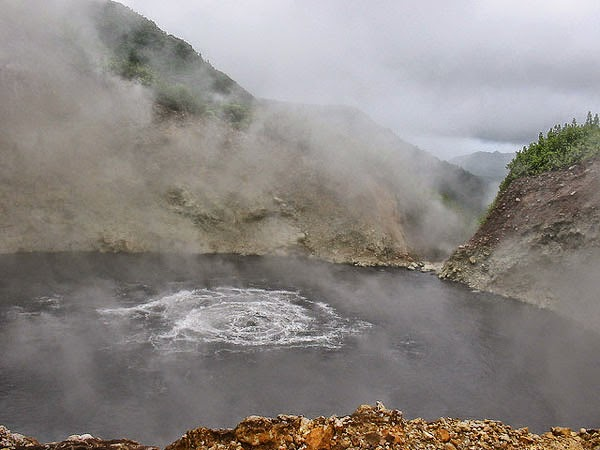 Boiling Lake in Dominica