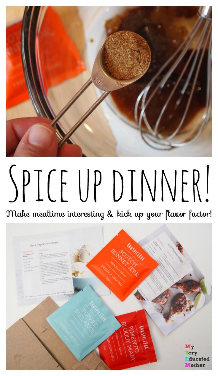 Spice Up Dinner