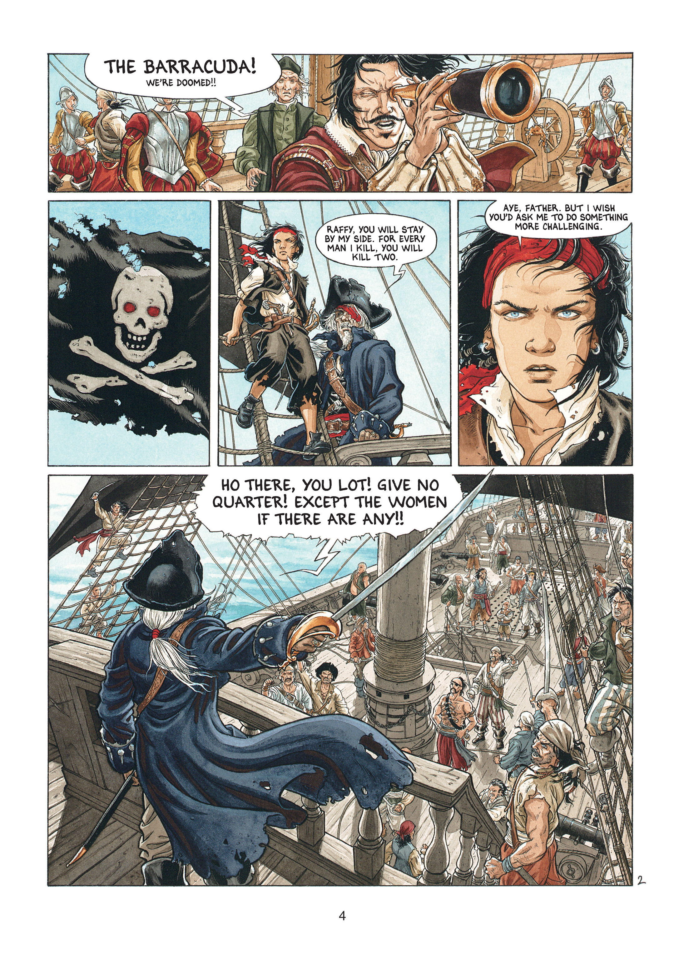 Read online Barracuda comic -  Issue #1 - 4