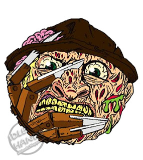 kidrobot Madballs Horrorballs Nightmare on Elm Street Freddy Krueger