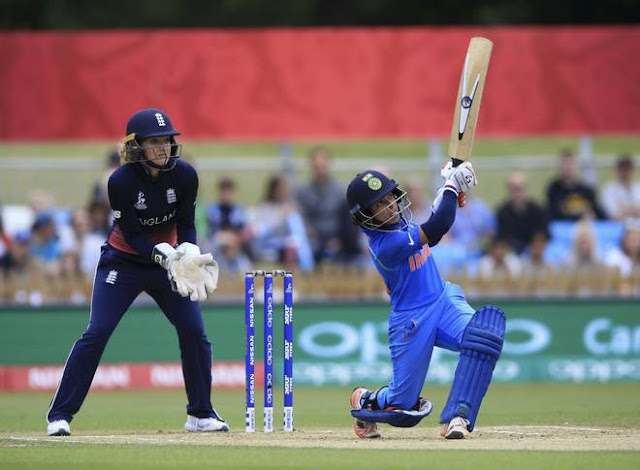 Women's World Cup: India beat England by 35 runs