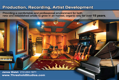 Threshold Recording Studios NYC Live Room