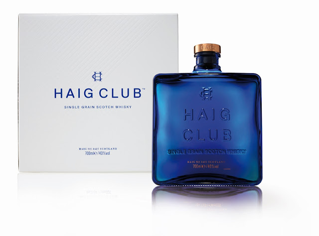 Haig Club Whisky bottle, with gift box.