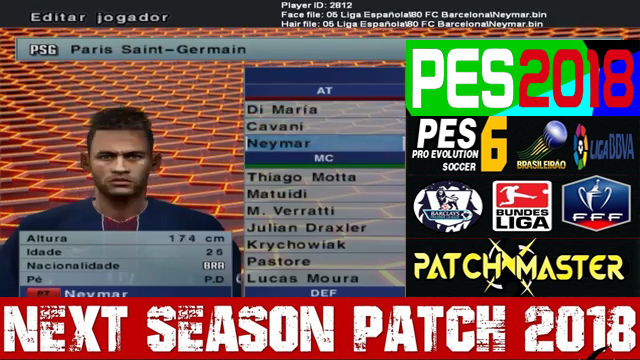 Pes 6 National Patch Road To Russia 2018 Png