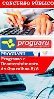 Apostila Concurso Proguaru - Progresso e Desenvolvimento de Guarulhos.