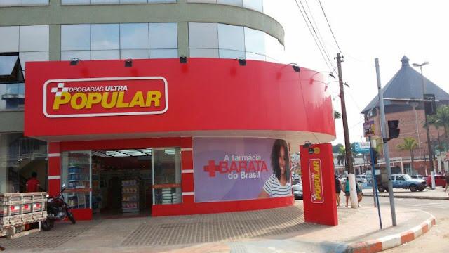 Drogaria Ultra Popular é assaltada no centro de Cruzeiro do Sul