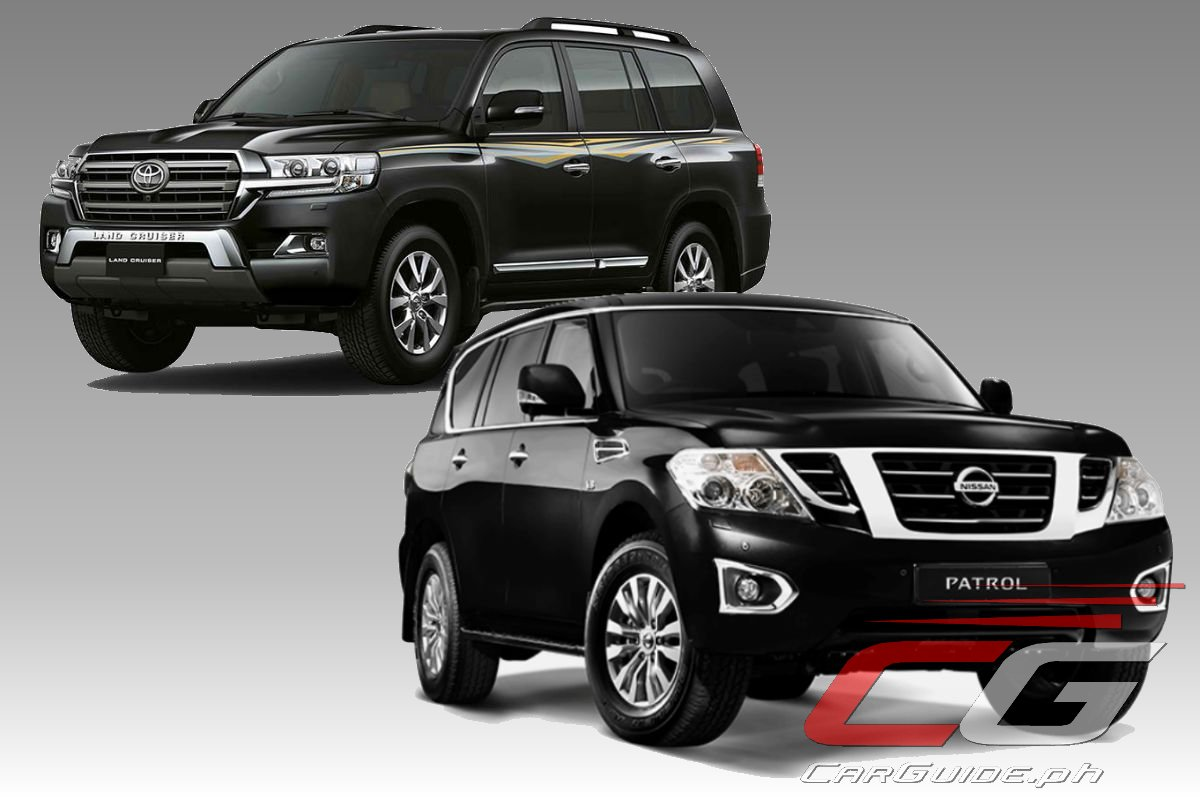 which is cheaper to own nissan patrol royale or toyota land cruiser premium philippine car. Black Bedroom Furniture Sets. Home Design Ideas