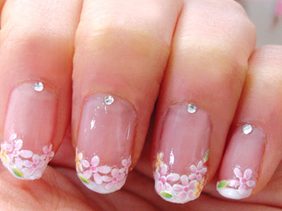 The Bloomin' Couch: Funky make-your-own nail art stickers!