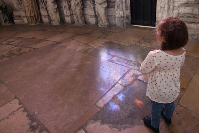 Helia en la Catedral de Rouen