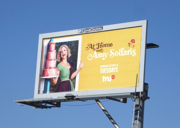 At Home Amy Sedaris billboard