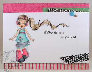Heather's Hobbie Haven - Dance Music Just for Fun Card
