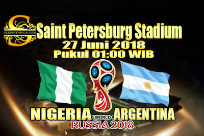 JUDI BOLA DAN CASINO ONLINE - PREDIKSI PERTANDINGAN PIALA DUNIA 2018 NIGERIA VS ARGENTINA 27 JUNI 2018