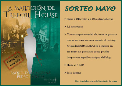 Sorteo #NovedadDelMesGRATIS - Mayo