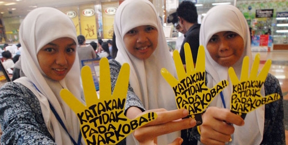 Satpol PP dan WH Aceh Sosialisasikan Bahasa Narkoba