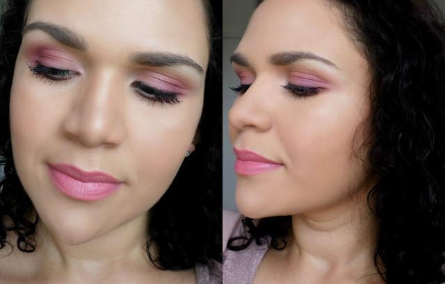 Maquiagem para Casamento de Dia rosa