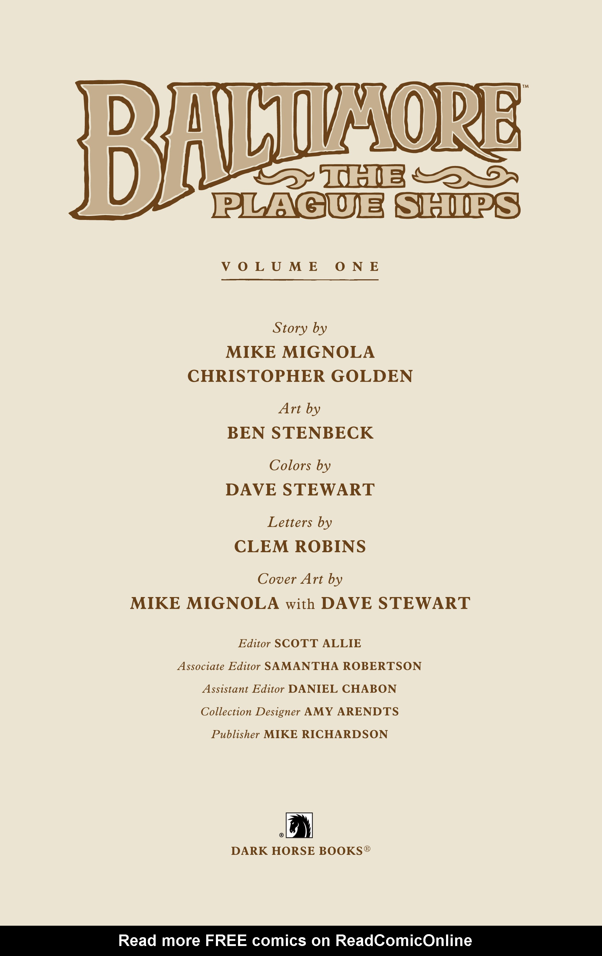 Read online Baltimore: The Plague Ships comic -  Issue # TPB - 5