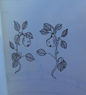 Il·lustració de la poesia: Acceptaré un company amb qui siguem iguals, p. 159 de: El sol i les seves flors / Rupi Kaur ISBN 9788417016456 per Teresa Grau Ros