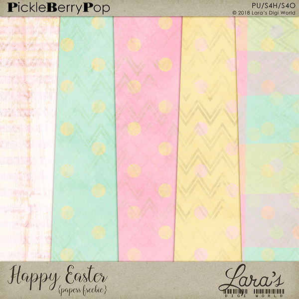 Freebie Happy Easter Papers
