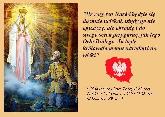 Znalezione obrazy dla zapytania modlitwa za narod polski