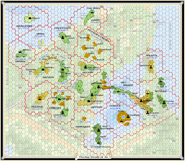 Mystara Alphatia Floating Ar Map