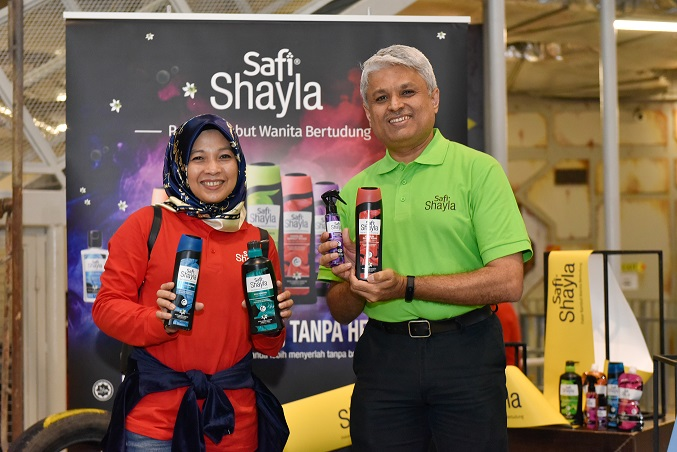 Safi Shayla - Pakar Rambut Wanita Bertudung Kini Dengan Wajah dan Produk Terbaru