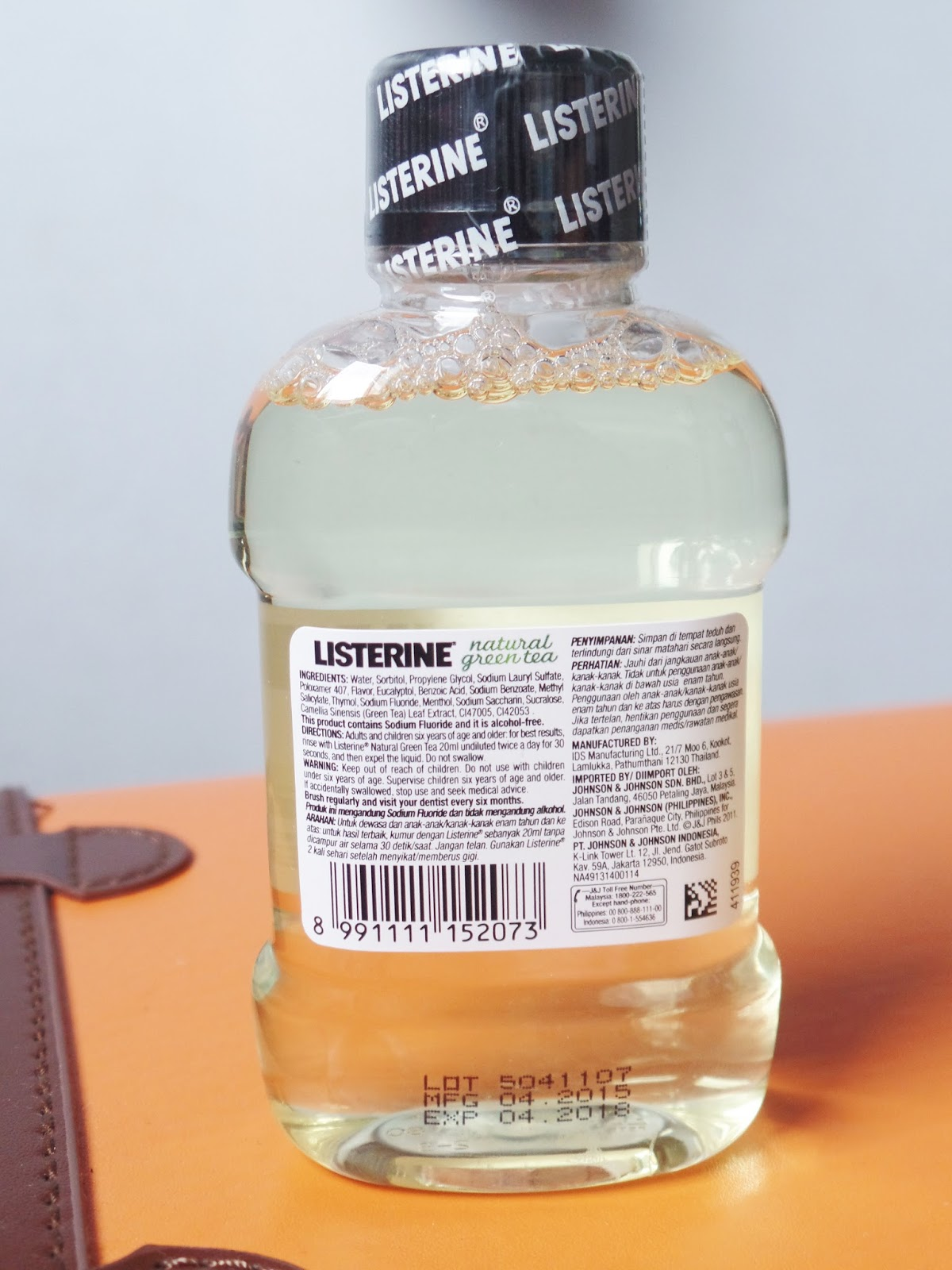 review listerine natural green tea antiseptic mouthwash