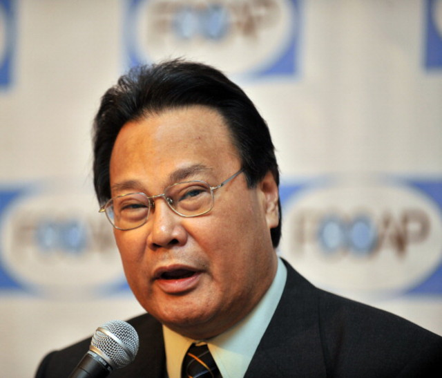 Former Chief Justice Renato Corona passed away.