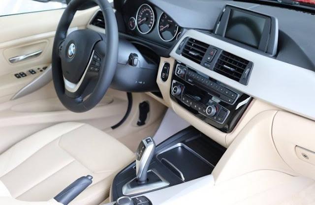 Bmw 320i 2016 - Đánh giá nội thất xe