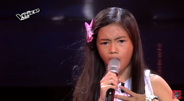"Angel Enerio sings ""Bulong"" on 'The Voice Kids'"