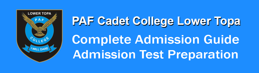 Admission Test Preparation Cadet College Lower Topa Murree