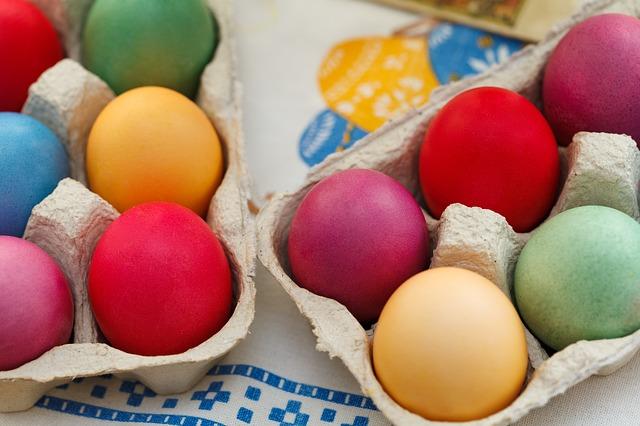 Pintar huevos, Bulgaria, Semana Santa, Velikden