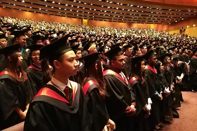 majlis graduasi Saito University College