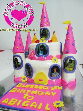 3D Princess Castle Cake