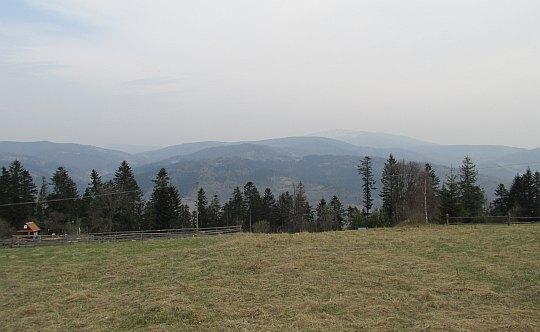 Polana pod szczytem Łoska