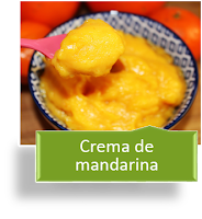 CREMA DE MANDARINA {MUY RICA}