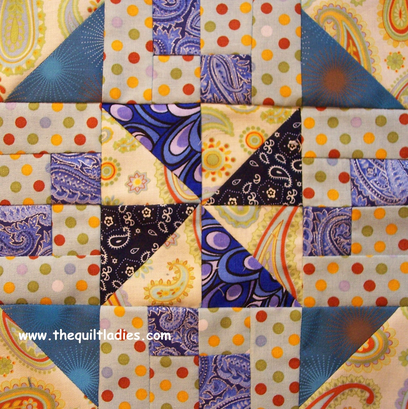 triangle quilt block how to