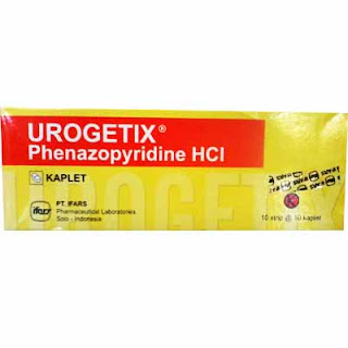 Urogetix : Phenazopyridine Hydrochloride 100 mg