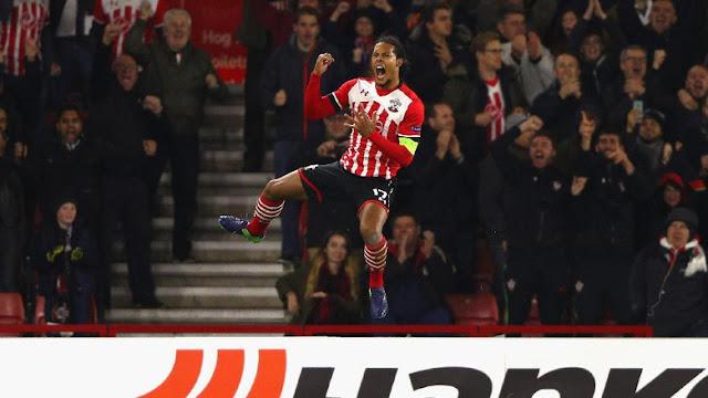 Van Dijk Tetap di Southampton Ketika Bursa Transfer Ditutup