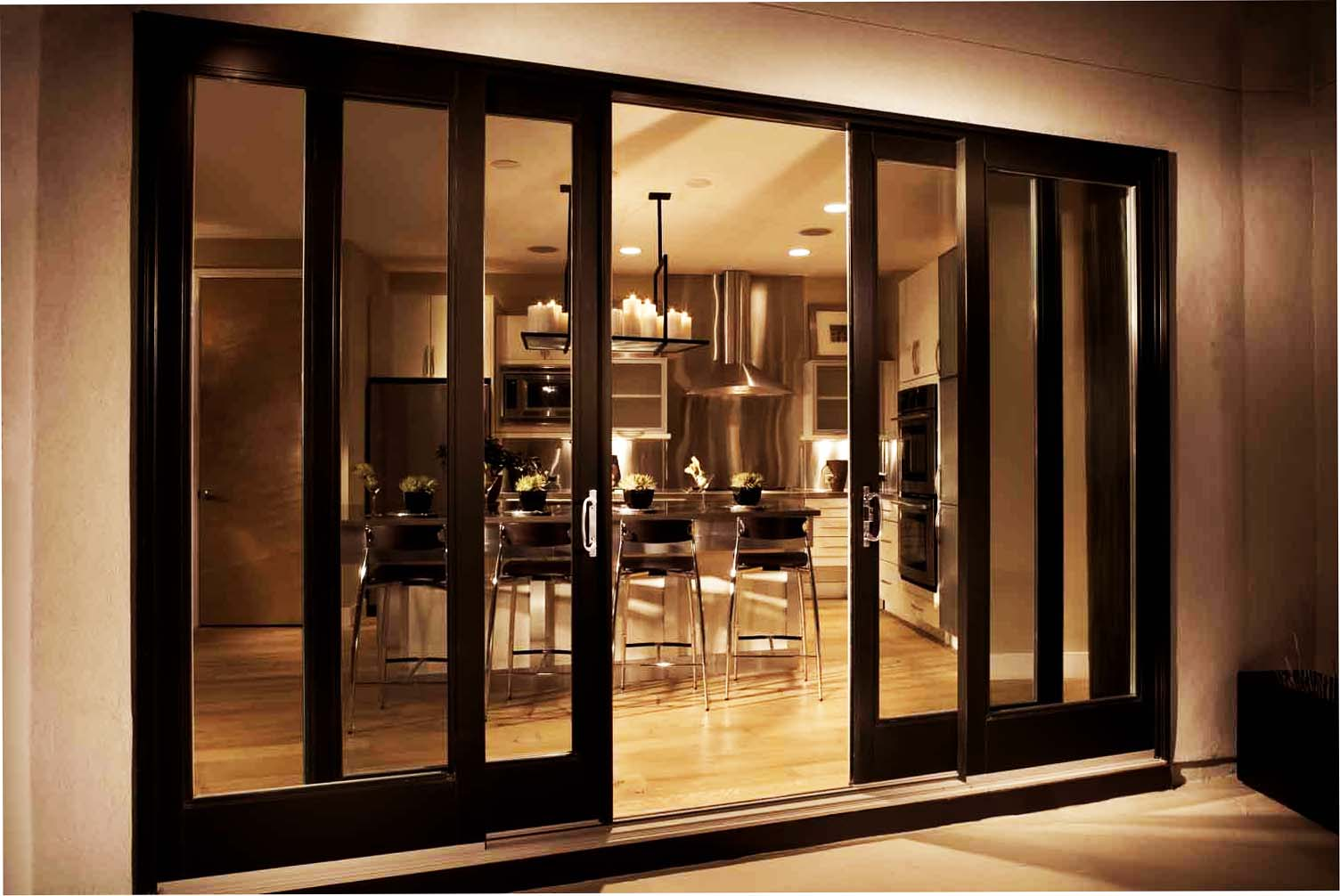 Tips and tricks in getting your exterior sliding doors for Outside sliding glass doors