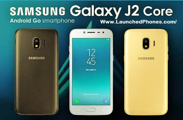 This volition travel the get-go Samsung Android Go call Samsung Milky Way J2 Core features are listed online